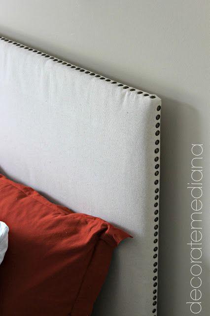 Decorate Me Diana: DIY Upholstered Headboard