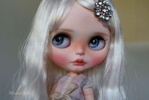 Marzpain -custom OOAK Blythe panenky, jedinečné umělecké panenky podle AlmondDoll