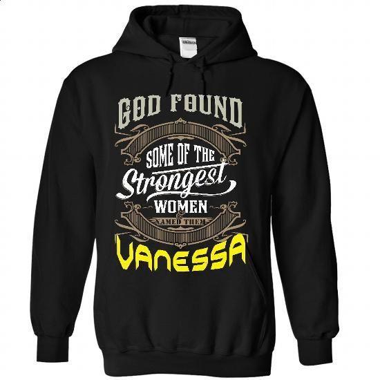 VANESSA - #first tee #customized sweatshirts. PURCHASE NOW => https://www.sunfrog.com/Names/VANESSA-2501-Black-24084286-Hoodie.html?60505