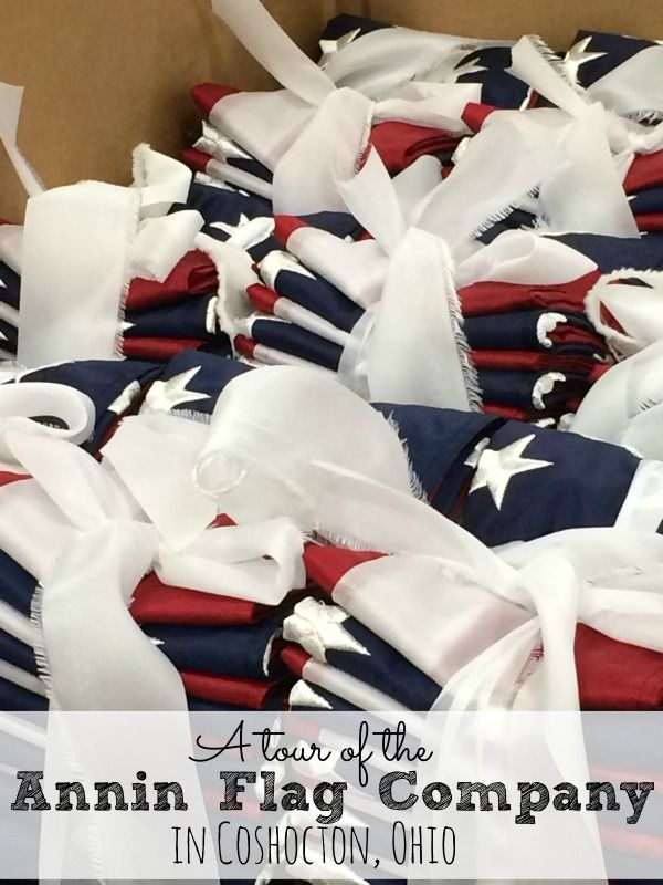 A Tour of the Annin Flag Company in Coshocton, Ohio.