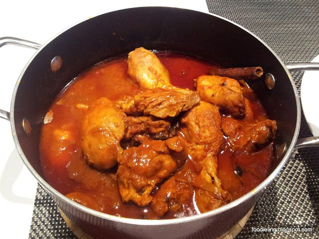 Ayam Masak Merah Recipe (Chicken in Spicy Red Sauce)