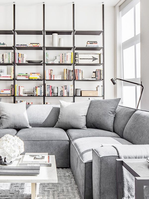 This+New+York+Apartment+Is+What+Dreams+Are+Made+Of+via+@MyDomaine