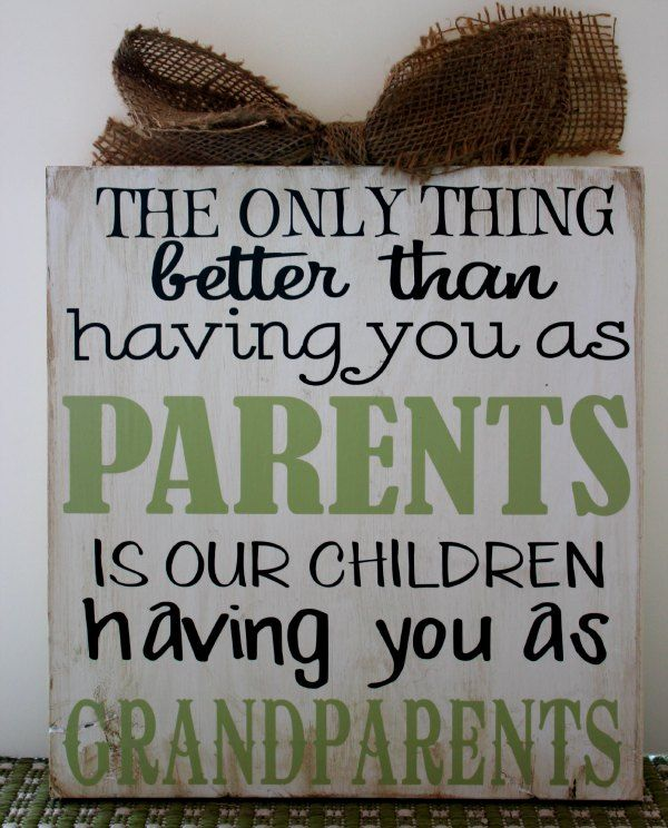 new grandparents day wordingl,.if we have a 2nd i would want this to tell them we r having another