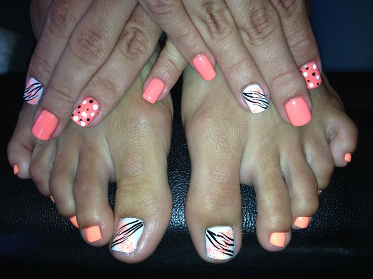 Matching Nail And Toe Designs | Best Nail Designs 2018