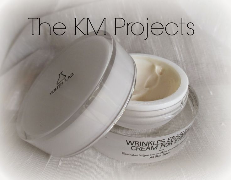 TheKMProjects: Review: Youth Lab Wrinkles Erasure Cream for eyes