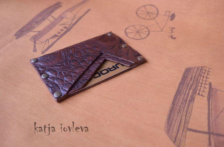 card-holder by Katja Iovleva  ki-quilt@mailme.dk