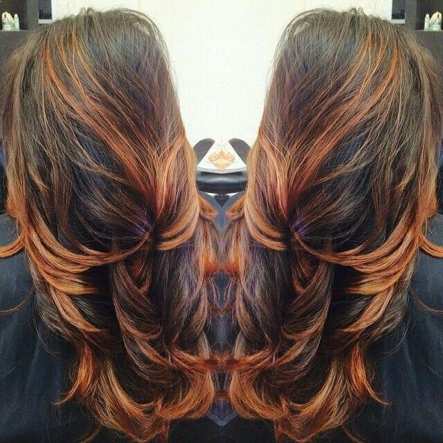 Best 25+ Orange highlights ideas on Pinterest | Copper ...