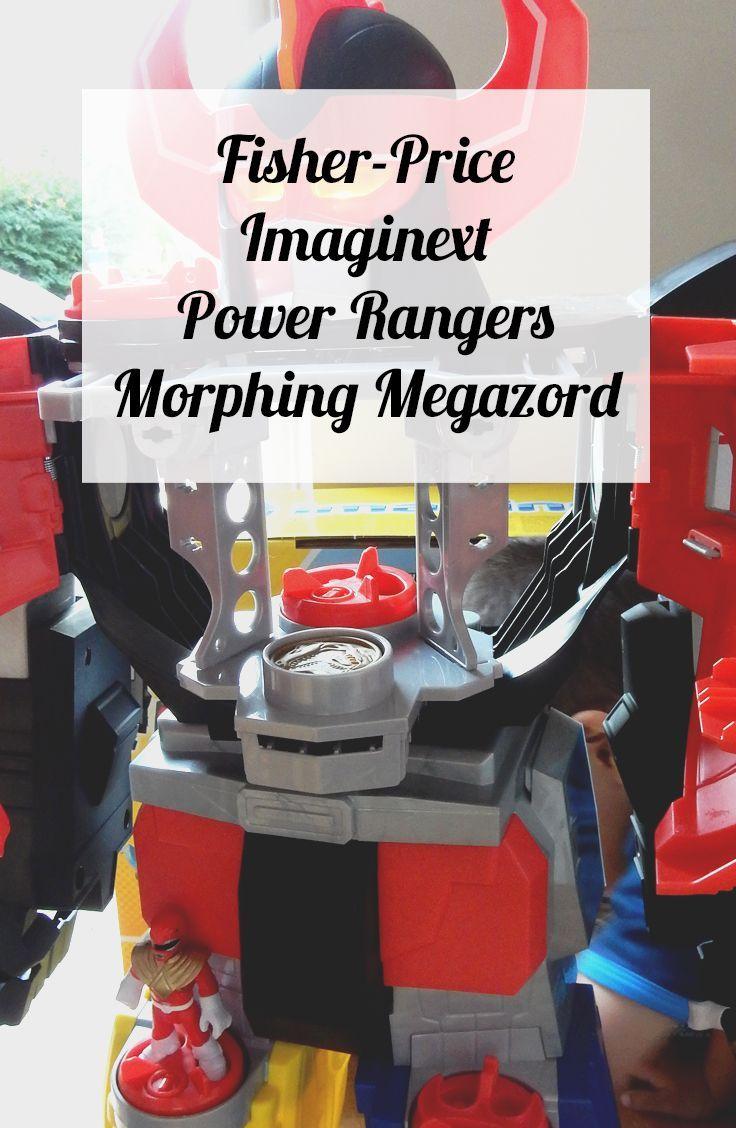 Fisher-Price Imaginext Power Rangers Morphing Megazord | Suburban Mum