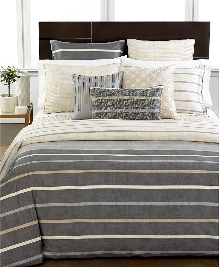 hotel collection modern colonnade bedding collection 400 thread count 100 pima cotton only
