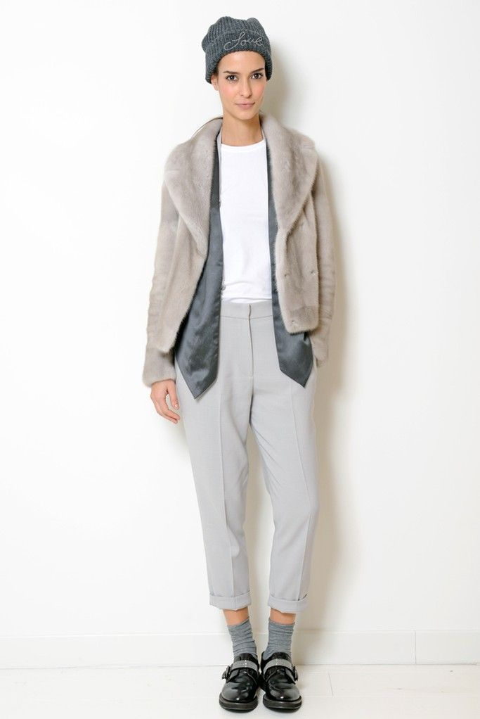 Brunello Cucinelli RTW Fall 2014 - Slideshow - Runway, Fashion Week, Fashion Shows, Reviews and Fashion Images - WWD.com