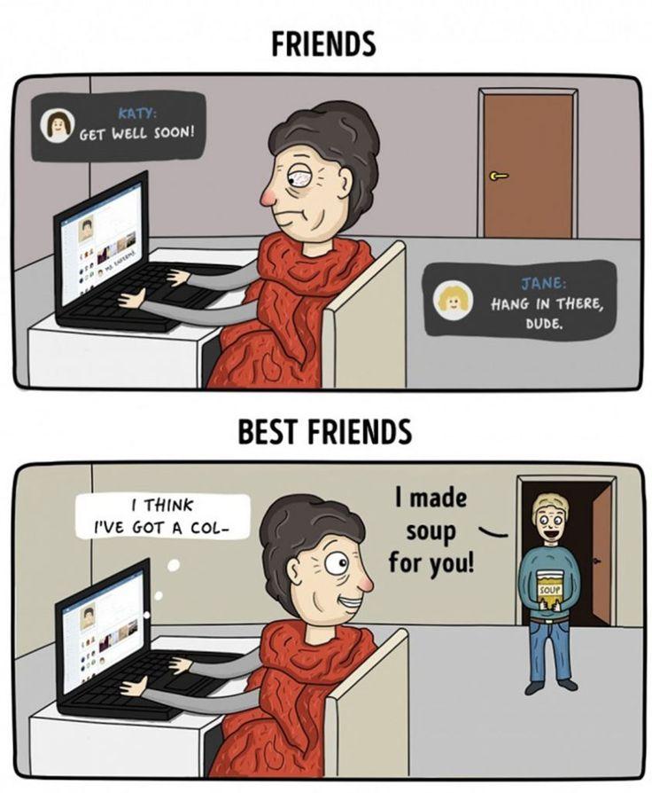 10+ Differences Between Friends Vs. Best Friends Best