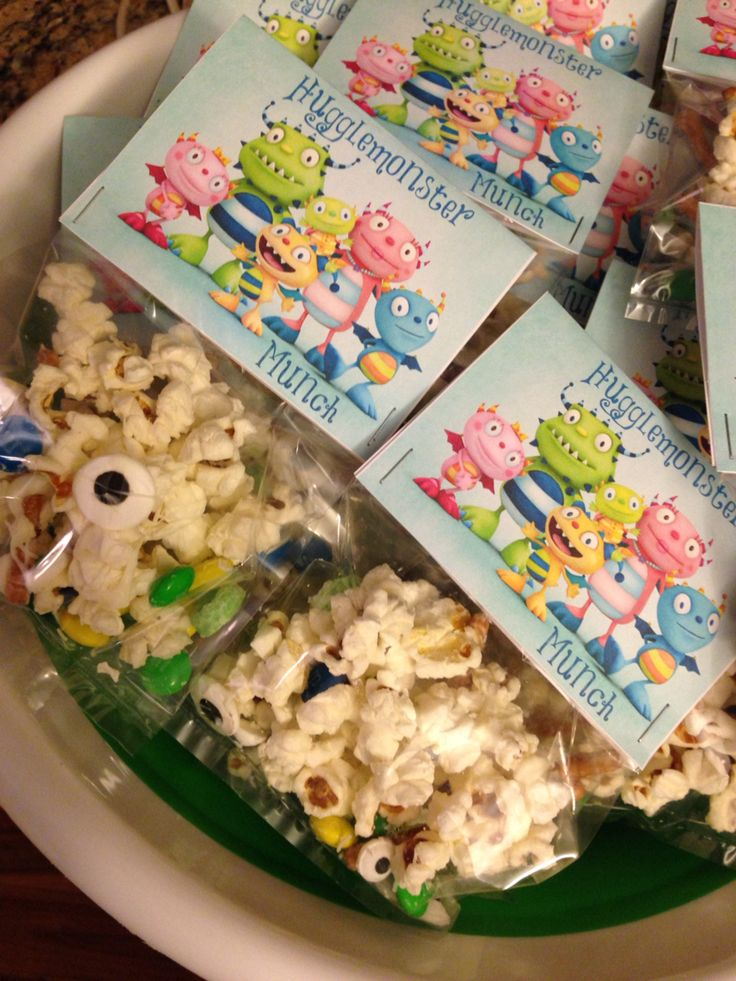 Henry Hugglemonster Party favor Contact arewallace@yahoo.com to order