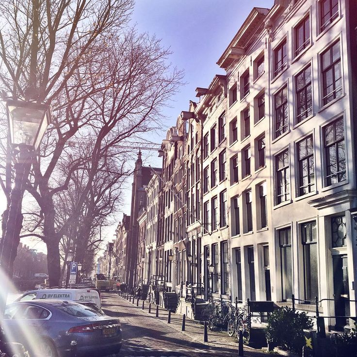 Took this picture on my way to school this morning ✨ #Amstergram