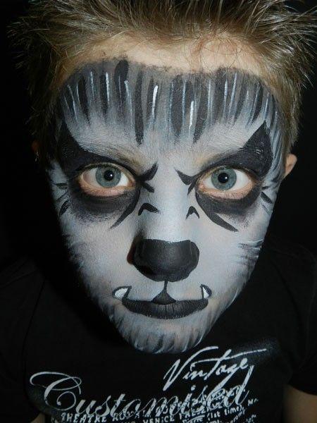 pin von wurm hoschi auf fasching halloween makeup wolf