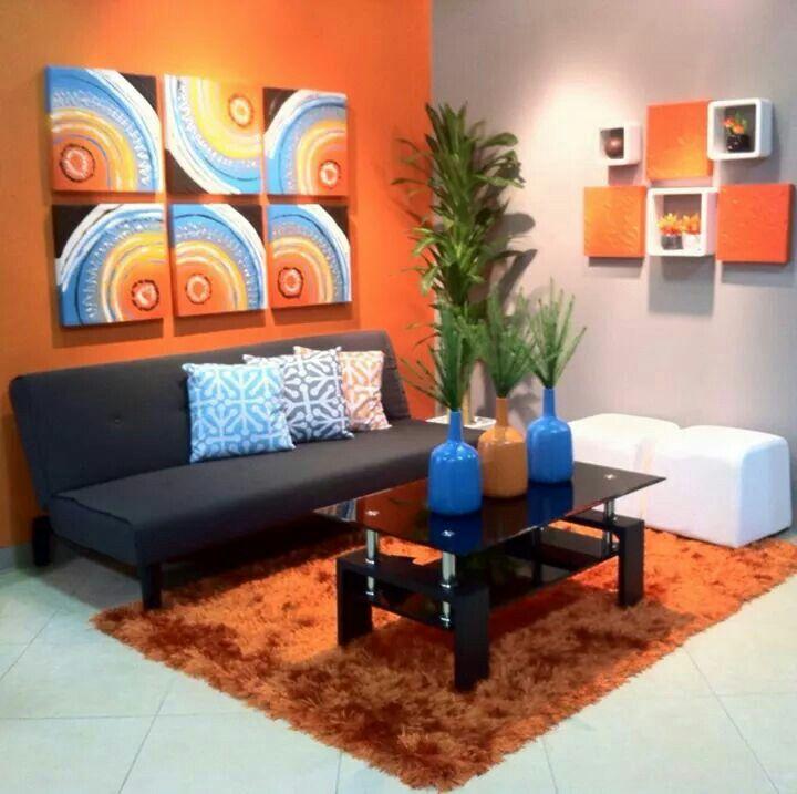 451 best home decor images on pinterest - Deco room oranje ...