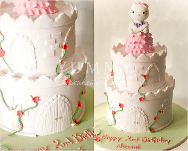 72 best Hello kitty fondant images on Pinterest Hello kitty cake
