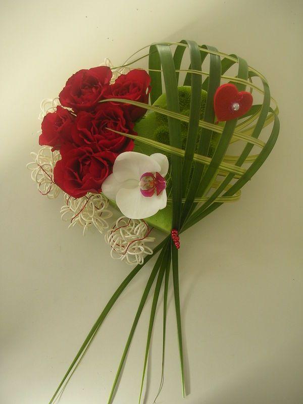 Composition Florale St Valentin