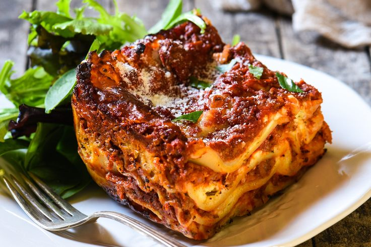 Lasagna with Cottage Cheese - Foxes Love Lemons