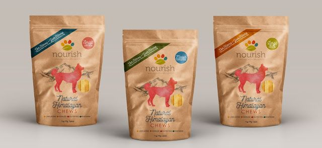 Natural Himalayan Dog Treats on Packaging of the World - Creative Package Design Gallery