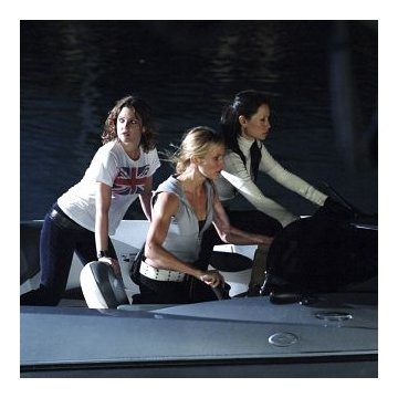 Drew Barrymore, Cameron Diaz and Lucy Liu in Charlie's Angels: Full Throttle