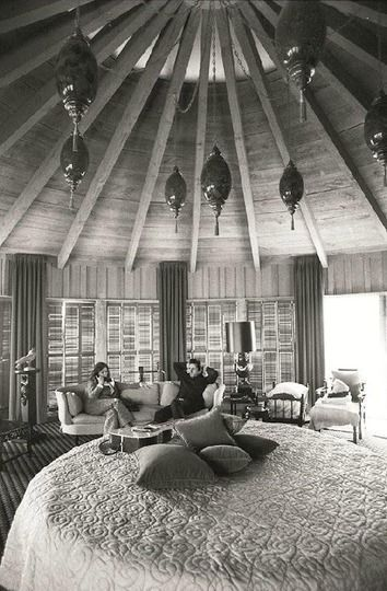 Johnny Cash and June Carter's Bedroom: