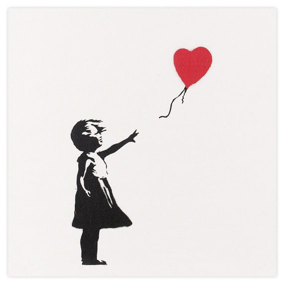 GIRL WITH RED BALLOON by Banksy | Art Print  THE PRINT  Put simply we produce the highest quality Banksy art print reproductions available to the general public. Short of owning a signed/numbered original our Banksy prints are the next best thing. Where possible we work with professional photographers to capture the original works in situ to create highly detailed and faithful images. The images are then processed and edited by professional photo editors before being reproduced on a top of…