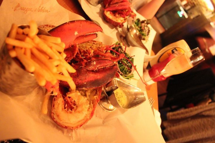 Burger and Lobster Cat Foley Survival Survival  - Champagne Dean Street