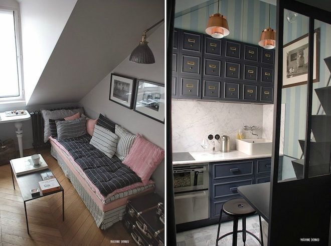 1000+ images about Fabulous Studio/Small Space Apartment Design on ...