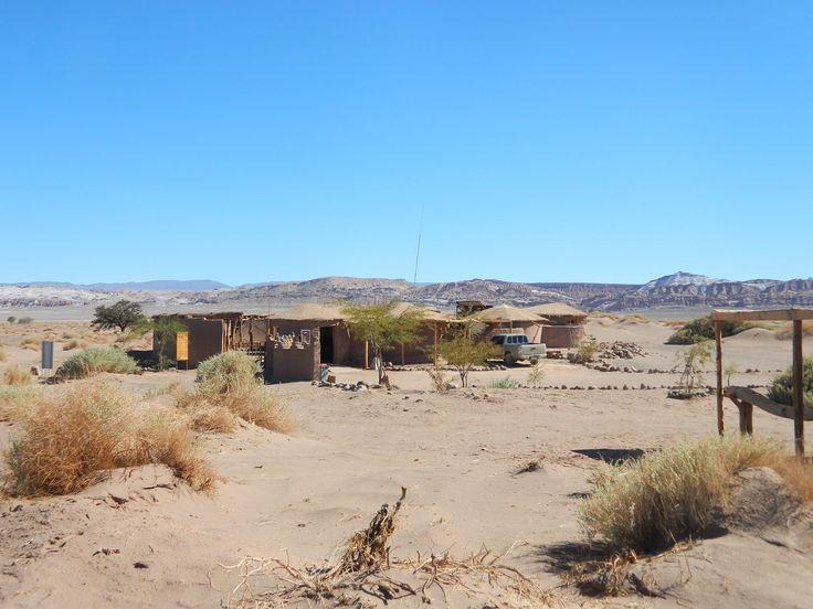 Ruinas de Tulor. Atacama desert. Chile