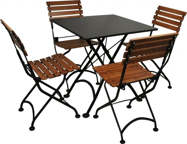 Cafe Folding Table And Chairs