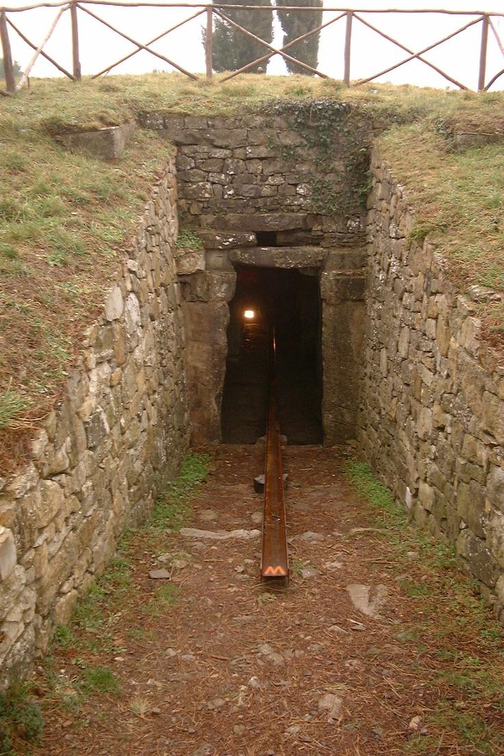 Castellina in Chianti (Tombe etrusche), Eliseo Mattiacci