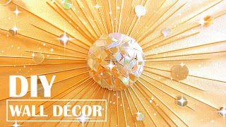 como fazer um espelho starburst usando cds antigos ~ Artesanato Reciclado