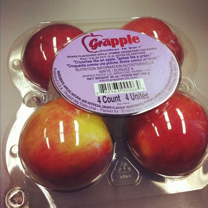 포도맛이 나는 사과 'Grapple'