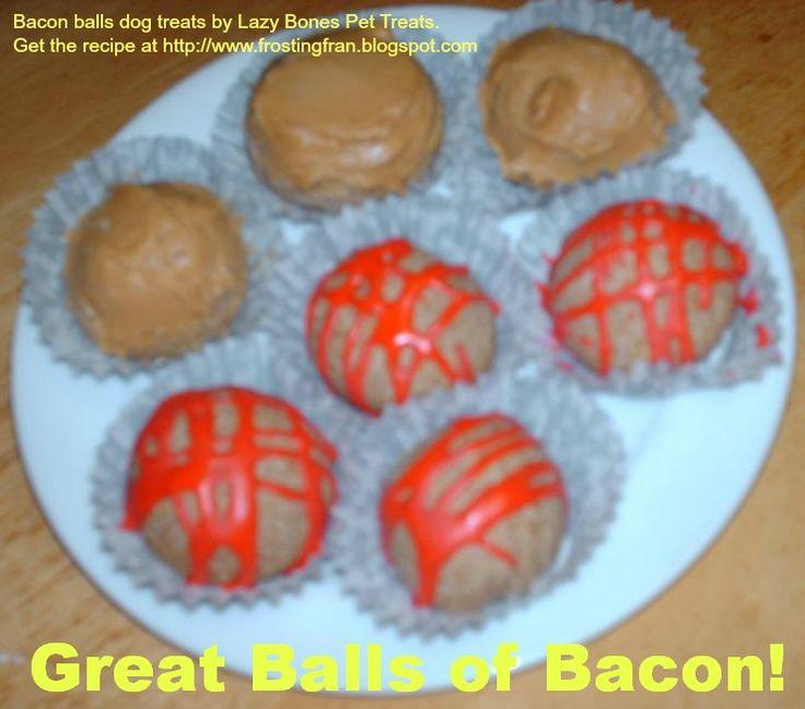 Grain Free Cake Balls For Dogs Recipe
