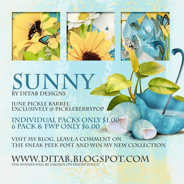 DitaB Designs: leave a comment on this Sneak Peek post and you ...