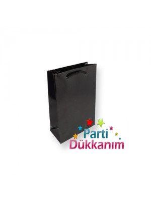 Siyah Hediye Çantası (17x11 cm)