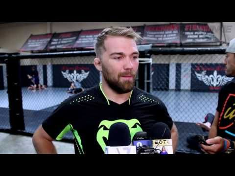 UFC bantamweight Bryan Caraway talks with media about his upcoming aspirations (full media scrum)