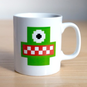 Eater Mug now featured on Fab.