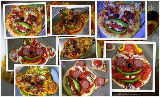 Super pizzové cesto bez vajec a droždia a ksichtíky na Halloween z neho