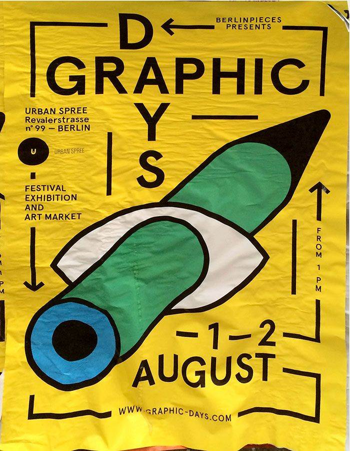DOMO-A Inspiration blog - postersofberlin:   Berlin Graphic Days – found in...