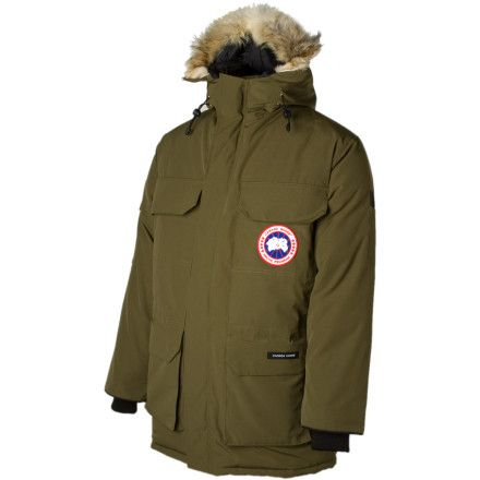 Canada GooseExpedition Down Parka - Men's: Ever since I borrowed one of these a while ago, I've wanted one.  It was -35 outside with the 40mph winds and my upper body wasn't cold, I just didn't have likewise warm pants or boots on.  It's my LL Bean Baxter State Parka on absolute steroids.  I will have one someday.