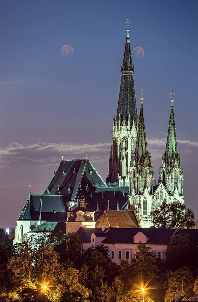 Cathedral of St.Wenceslas, Olomouc, Czechia                                                                                                                                                                                 More