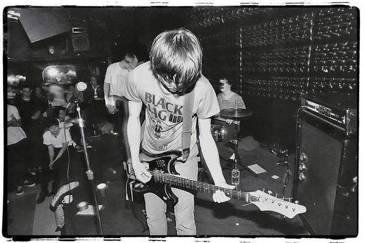 UNWOUND at The Casbah, San Diego, CA 1993 / Photo: Jeff Winterberg