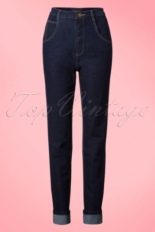 Collectif Clothing Monroe Plain Jeans  131 31 20079 20160928 0005W