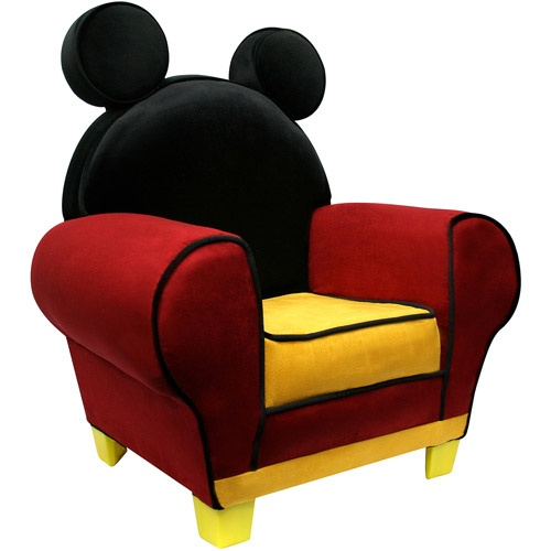 Disney - Mickey Mouse Chair  Xmas gift for their play room along with Minnie chair!