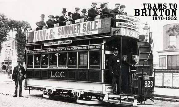History of Brixton trams and cable cars, London