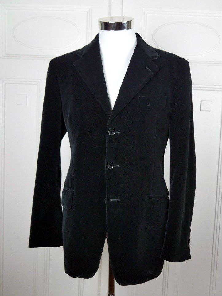 Italian Vintage Black Velvet Blazer, Private Label i vellati Pontoglio Rich Black Velvet Jacket, Near Mint Velvet Sport Coat: Size 38 US/UK by YouLookAmazing on Etsy