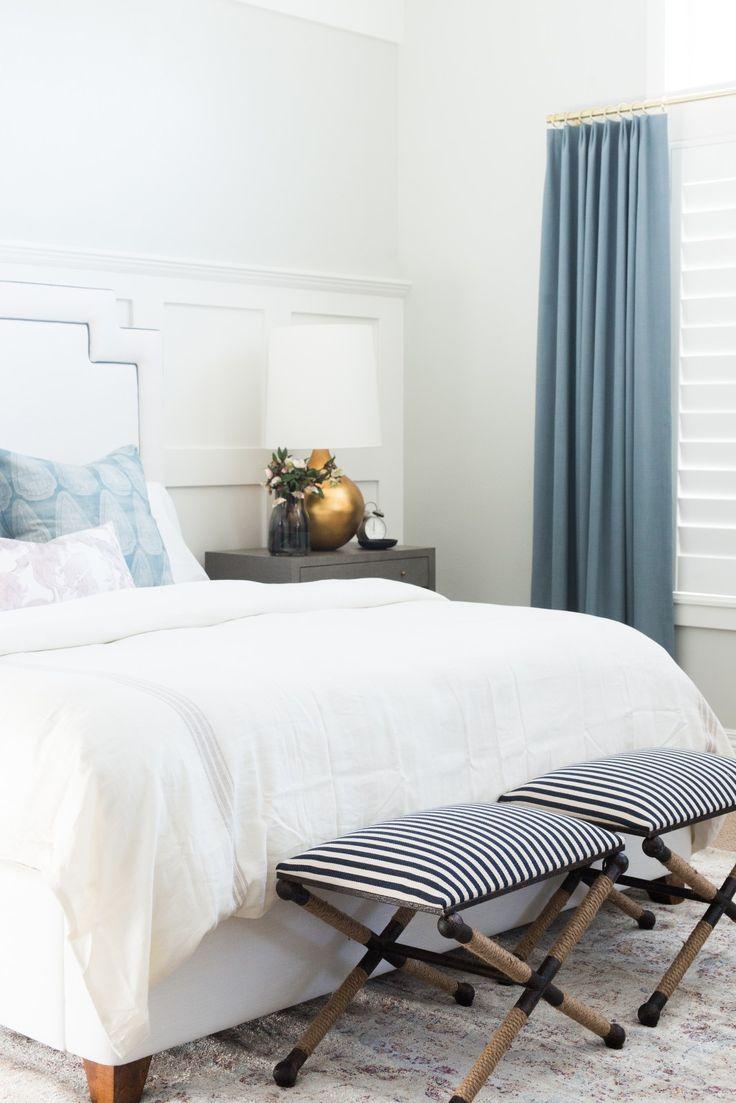 Elegant Cove Street Project Reveal. Master BedroomsGrey ...