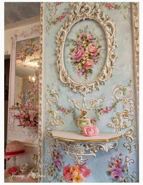 Rococo - couldn't do this in my home but would love to.