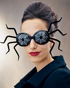 Charmed Costumes: Spider Shades | Step-by-Step | DIY Craft How To's and Instructions| Martha Stewart